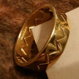 Eddie Borgo Gold, Inner Locking Bangle Bracelet